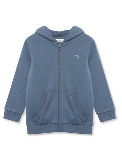 Blue zip front hoodie (3yrs - 12yrs)