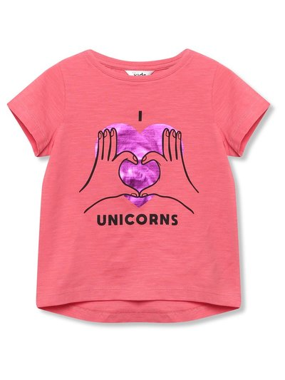 I heart unicorns t-shirt (3-12yrs)
