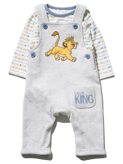 Disney Lion King bodysuit and dungarees set
