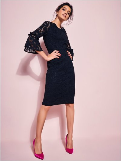 GLAMOUR lace pencil dress