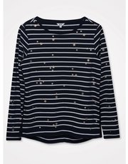 Khost Clothing star striped t-shirt