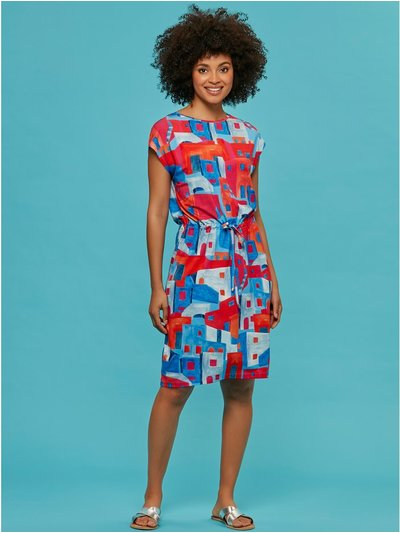 Khost Clothing abstract print dress