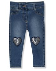 Love heart sequin jeans (9mths-5yrs)
