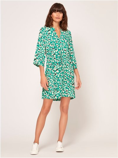 JDY animal print shirt dress