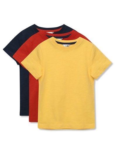 Short sleeve t-shirts three pack (3-12yrs)