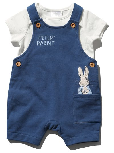 Peter Rabbit bibshort and top set (Newborn - 2 yrs)