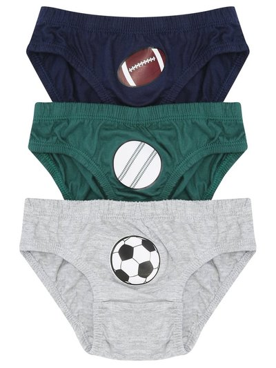 Sports briefs three pack (2-10yrs)