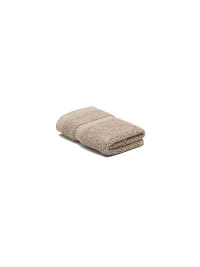 Silver combed cotton facecloth