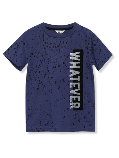 Whatever two way sequin t-shirt (3-13yrs)