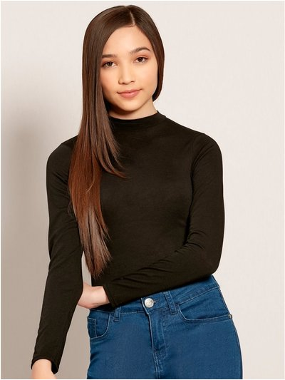 Teens' high neck bodysuit