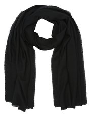 Soft touch fringe edge scarf