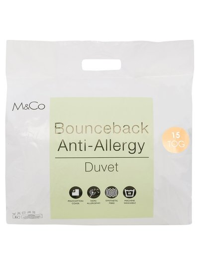 Bounceback Anti-Allergy 15 Tog Duvet