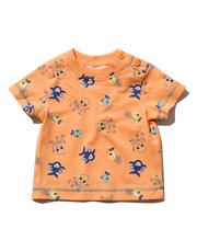 Sea creature print t-shirt