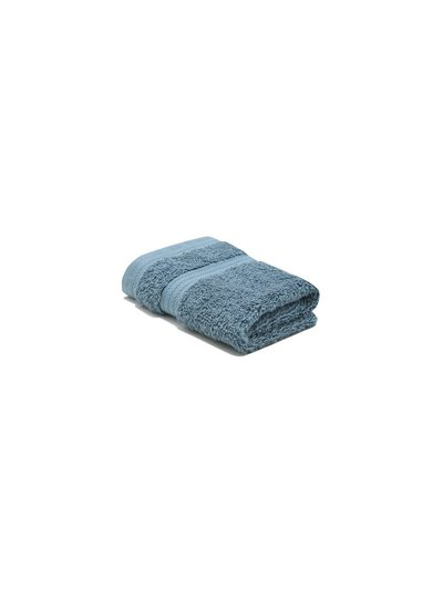 White combed cotton facecloth