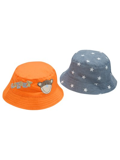 Monkey star sun hats two pack