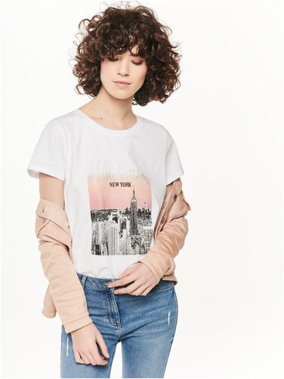 New York graphic print t-shirt