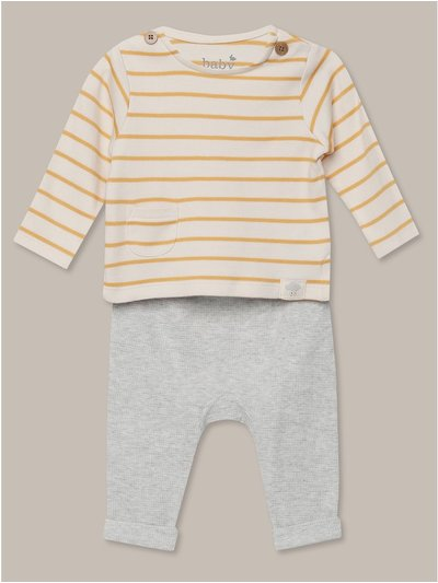 Stripe top and joggers set (Newborn-12mths)