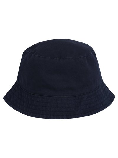 Navy bucket hat (0-24mnths)