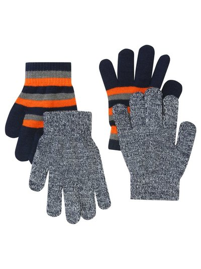 Stripe magic gloves two pack