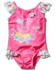 Peppa Pig frill swimsuit