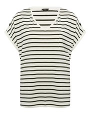 Metallic stripe t-shirt