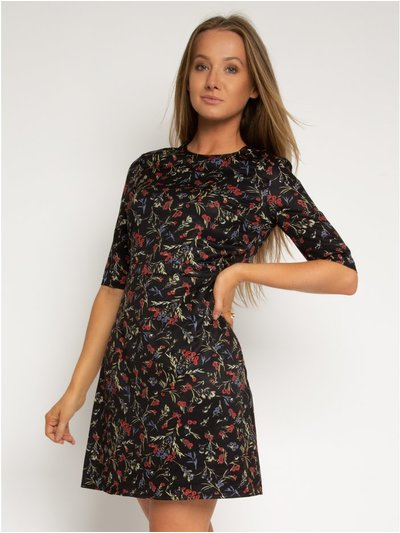 StylistPick floral woven printed dress