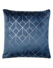 Geometric print cushion