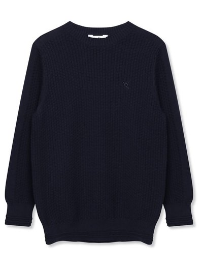 Textured knit jumper (3-12yrs)