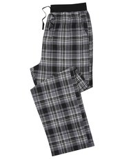 Grey check lounge trousers
