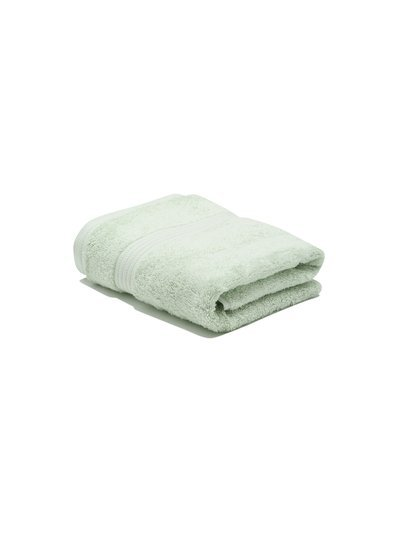Silver combed cotton hand towel