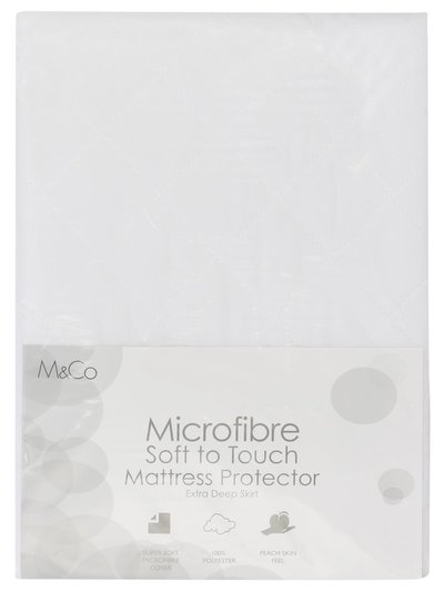 Soft touch deep fit mattress protector