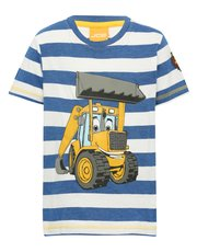 JCB Joey stripe t-shirt