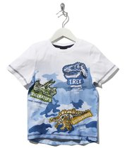 Natural History Museum dinosaur camouflage t-shirt