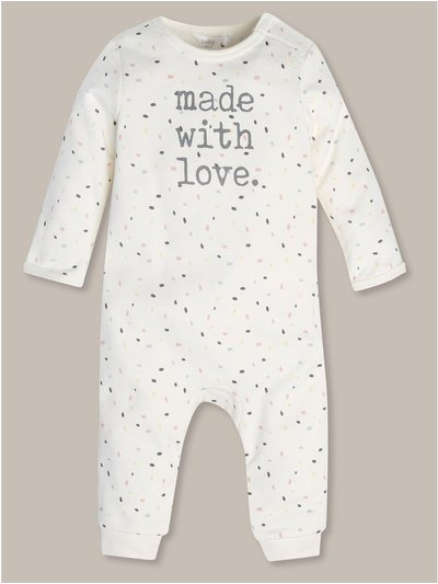 Made with love romper (Newborn-18mths)