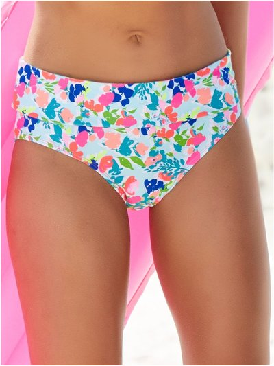 Sorbet roll over bikini bottoms