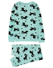 Teens' unicorn fleece pyjamas