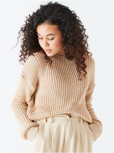 Teen ribbed jumper