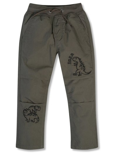 Dinosaur embroidered trousers (9mths-5yrs)