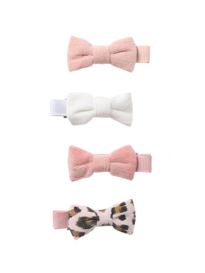 Leopard Bow Clips