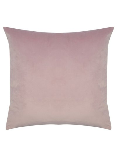 Lilac velour cushion