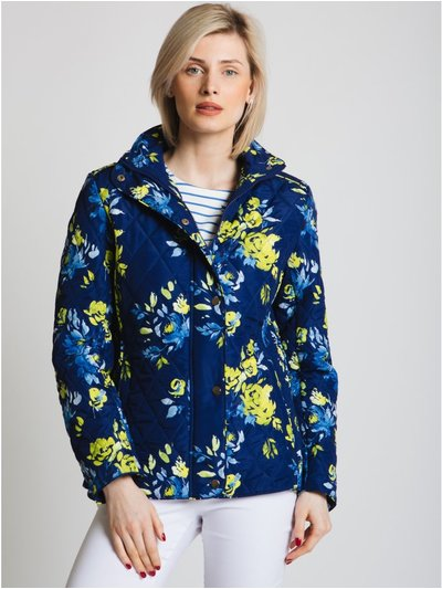 Jessica Graaf abstract floral print jacket