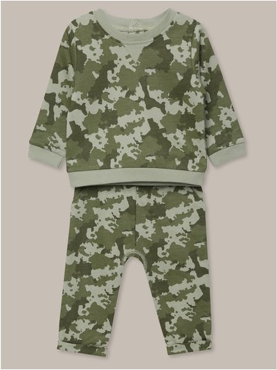 Camouflage jogger set (0-18mths)