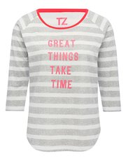 Training Zone 'Great things' slogan top