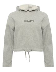 Teen exclusive slogan hoodie