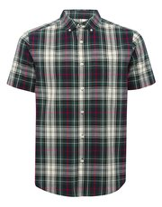 Tartan check short sleeve shirt