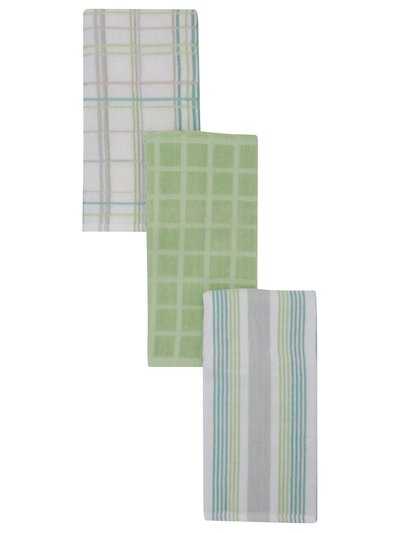 Terry tea towels three pack