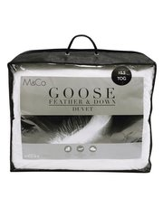 Goose feather and down 10.5 tog duvet