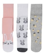Bunny tights three pack