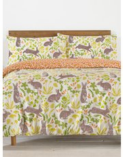 Wild rabbits duvet set