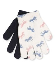 Unicorn gloves two pack